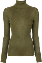 Tory Burch embroidered logo jumper