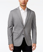 Alfani Men's Classic-Fit Heathered Knit Blazer, Only at Macy's