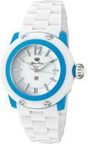 Glam Rock Women's GK4011 - White Polycarbonate/White Wrist Watches