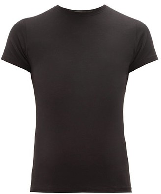Atm ATM - Baby Slubbed Cotton-jersey T-shirt - Womens - Black