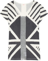 Sass & Bide The Next Spin sequin-embellished bamboo and silk-blend jersey top