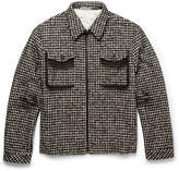 Bottega Veneta - Checked Wool-blend Jacket