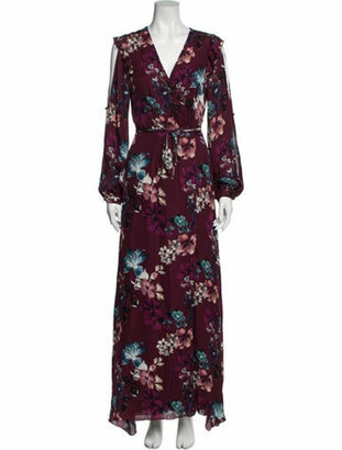 Nicholas Floral Print Long Dress