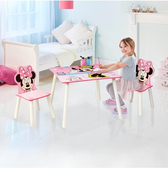 Minnie Mouse Table and 2 Chairs by HelloHome