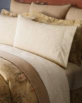 Ralph Lauren Home Verdonnet Queen 300TC Floral Jacquard Flat Sheet