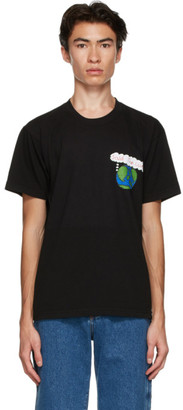 Kids Worldwide Black Save The World T-Shirt