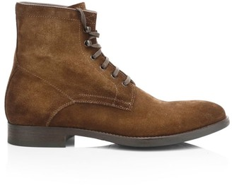 To Boot Ditmans Plain Tie Leather Boots