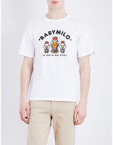 A Bathing Ape Baby Milo Cotton-jersey T-shirt