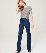 LOFT Petite Refined Denim Trousers