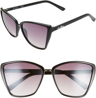 Sam Edelman 60mm Oversize Cat Eye Sunglasses