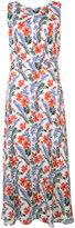 Carolina Herrera floral print long dress