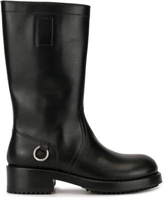 Raf Simons Stitching Detail Boots