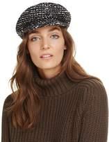 Eugenia Kim Marina Tweed Newsboy Cap