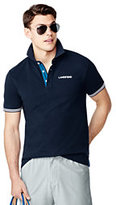 sport Men's Athleisure Short Sleeve Navy Polo-Gray Heather