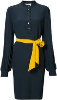 Lanvin kimono effect shirt dress - women - Silk - 38