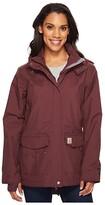 Carhartt Shoreline Jacket (Black) Women's Coat