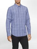 Calvin Klein Classic Fit Infinite Cool Window Plaid Shirt