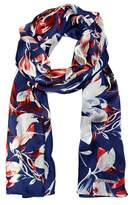 Vince Camuto Watercolor Blossoms Scarf