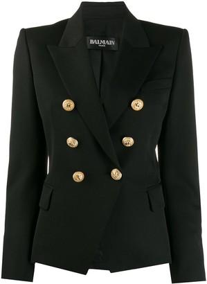 Balmain Buttoned Double-Breasted Blazer