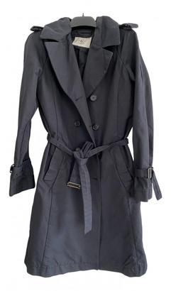 Cerruti Black Cotton Trench coats