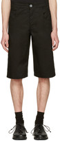 Telfar Black Pockets Shorts