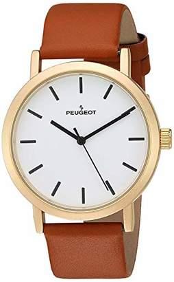 Peugeot Men's Casual Minimalist Wrist Watch