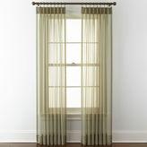 Liz Claiborne Lisette Pinch-Pleat Sheer 2-Pack Curtain Panels