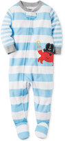 Carter's 1-Pc. Striped Crab Footed Pajamas, Baby Boys (0-24 months)