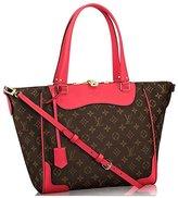 Louis Vuitton Louis V uitton Monogram Canvas Estrela Handbag Poppy Article: M41735 Made in France