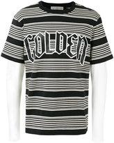 Golden Goose Deluxe Brand layered stripe T-shirt - men - Cotton/Linen/Flax - M