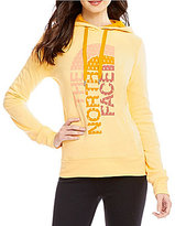 The North Face Trivert Drawcord Crew Neck Solid Pullover Hoodie