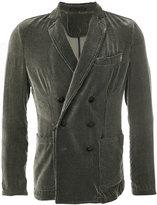 Giorgio Armani double breasted corduroy jacket
