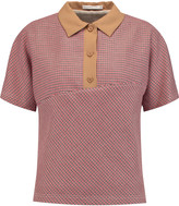 Carven Tweed polo shirt