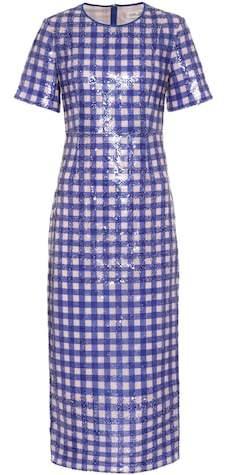 Diane von Furstenberg Sequinned tulle dress