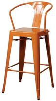 Apt2B Oxford Metal Counter Chair- Set of 4 ORANGE