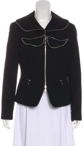 148 Zip-Accented Casual Jacket