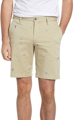 Tommy Bahama Hit The Links Embroidered Shorts