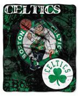 Northwest Company Boston Celtics 50x60in Plush Throw Drop Down