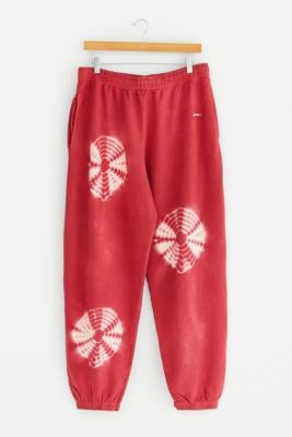 iets frans... Unisex Red Spot Tie-Dye Joggers - Red L at Urban Outfitters