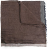 Cerruti block panel scarf