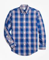 Brooks Brothers Non-Iron Regent Fit Plaid Sport Shirt