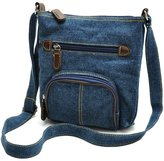 ilishop Women Lady Denim Handbag Mini Messenger Hobo Tote Shoulder Crossbody Bags