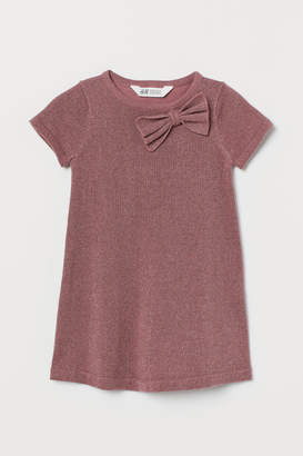 H&M Glittery Dress - Pink