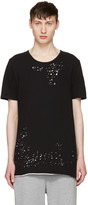 Miharayasuhiro Black Distressed T-shirt