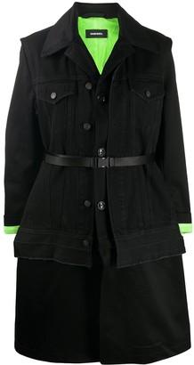 Diesel W-Charie convertible coat