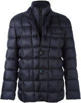 Fay double collar padded jacket