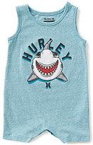 Hurley Baby Boys Newborn-12-Months Block Party Shark Shortall