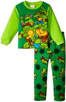 Nickelodeon Tmnt 2 Piece Fleece Set (Toddler) - Multicolor - 4T