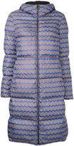 Missoni wavy print padded coat