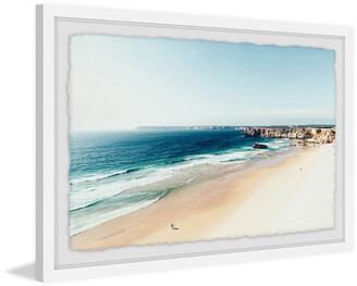 Morgan Marmont Hill As Far As The Eye Can Sea Framed Painting Print By Hartley